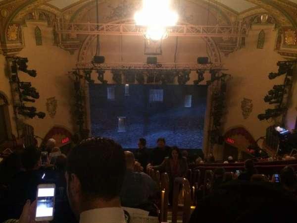 John Golden Theatre, secção: Rear Mezzanine LC, fila: G, lugar: 101