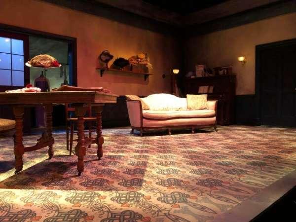 The Beckett Theatre at Theatre Row, secção: Orch, fila: A, lugar: 13