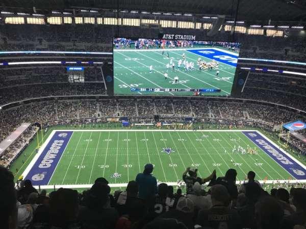 AT&T Stadium, secção: 414, fila: 25, lugar: 13