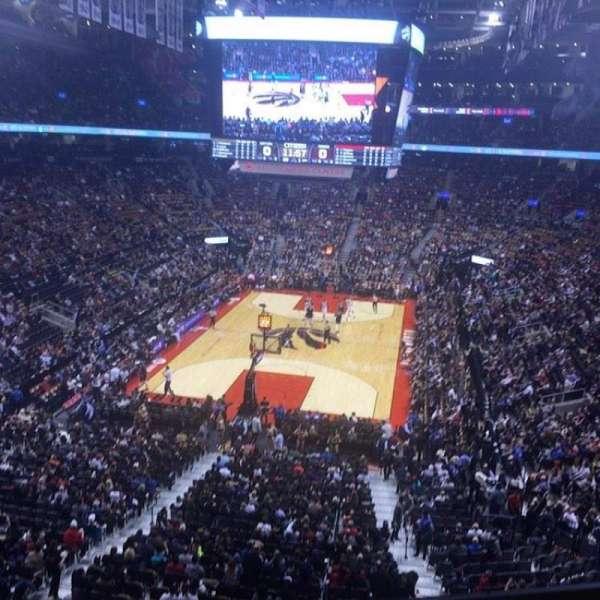 Scotiabank Arena, secção: 314, fila: 1, lugar: 15