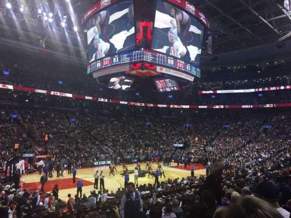 Scotiabank Arena, secção: 110, fila: 16