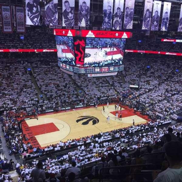Scotiabank Arena, secção: 311, fila: 11, lugar: 7