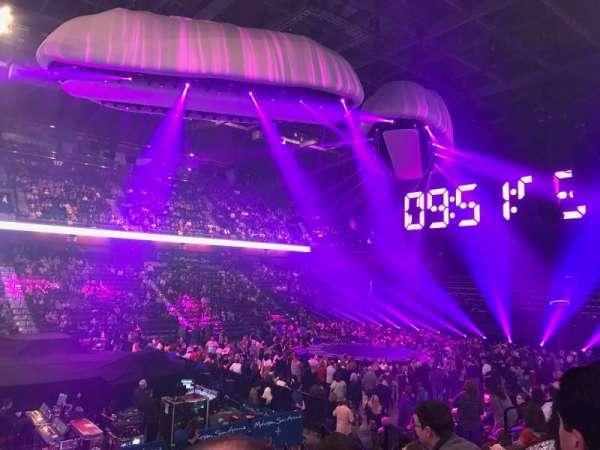 Mohegan Sun Arena, secção: 17, fila: N, lugar: 15