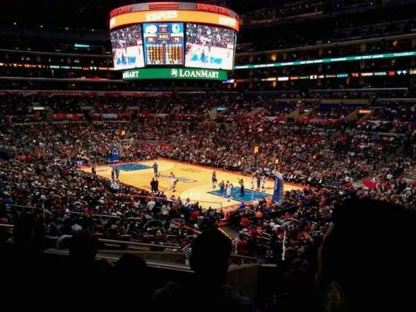 Staples Center, secção: PR1, fila: 9, lugar: 9