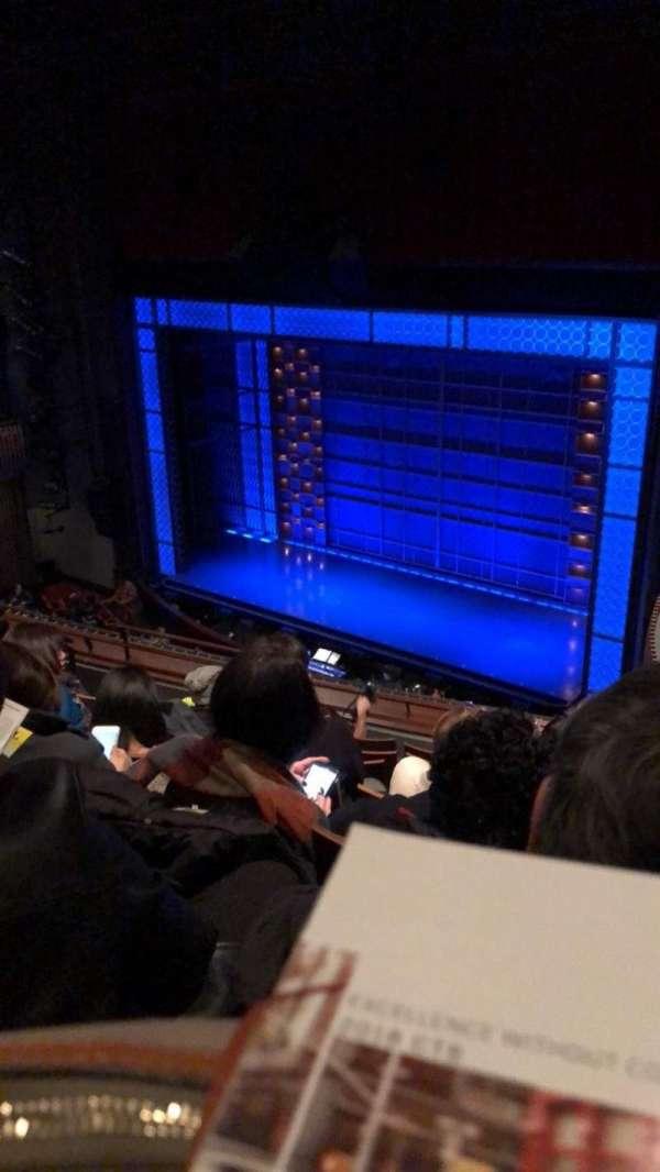 Stephen Sondheim Theatre, secção: Mezzanine R, fila: GG