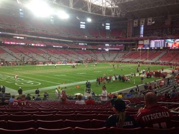 State Farm Stadium, secção: 136, fila: 21, lugar: 8