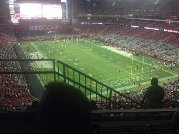 State Farm Stadium, secção: 432, fila: 2, lugar: 9