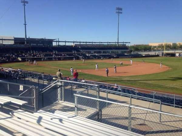Peoria Sports Complex, secção: 218, fila: GG, lugar: 9
