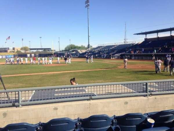 Peoria Sports Complex, secção: 109, fila: K, lugar: 7
