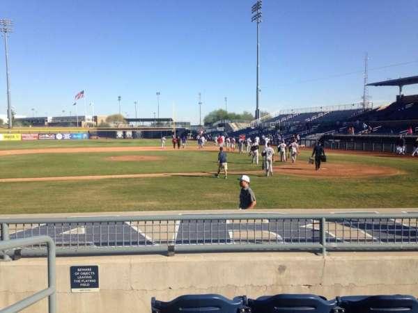 Peoria Sports Complex, secção: 107, fila: K, lugar: 12