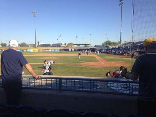 Peoria Sports Complex, secção: 105, fila: K, lugar: 5
