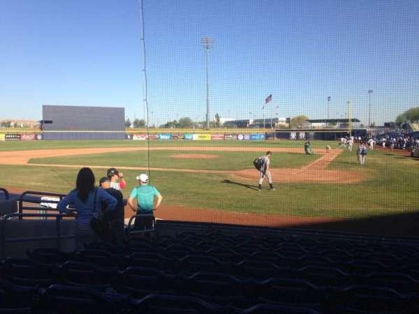 Peoria Sports Complex, secção: 103, fila: K, lugar: 7