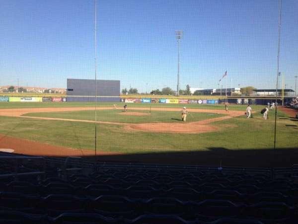 Peoria Sports Complex, secção: 101, fila: K, lugar: 7