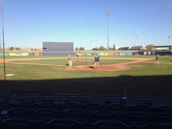 Peoria Sports Complex, secção: 101, fila: F, lugar: 5