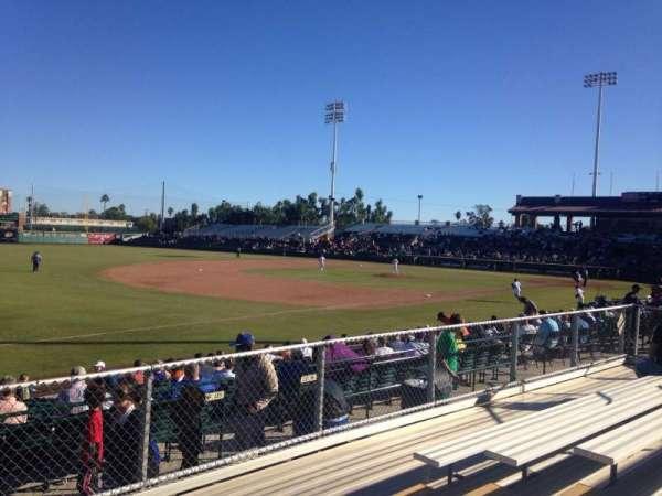 Scottsdale Stadium, secção: F, fila: 6, lugar: 6
