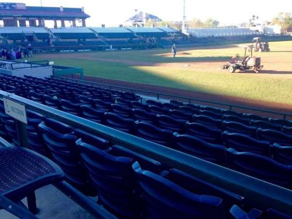 Scottsdale Stadium, secção: 120, fila: WC, lugar: 3