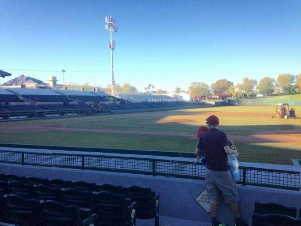 Scottsdale Stadium, secção: 116, fila: H, lugar: 1