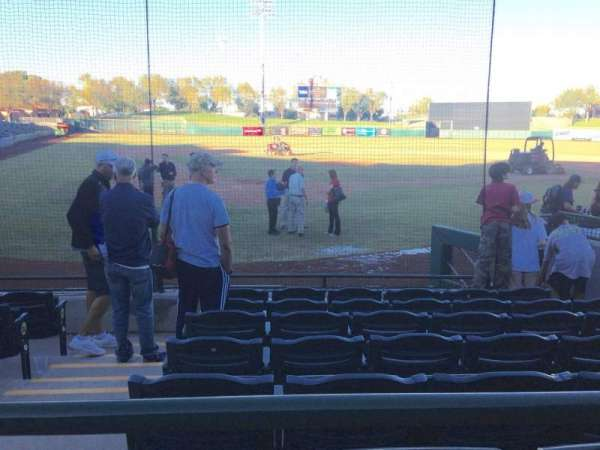 Scottsdale Stadium, secção: 106, fila: WC, lugar: 3
