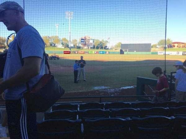 Scottsdale Stadium, secção: 106, fila: F, lugar: 1