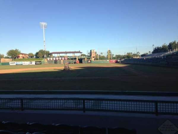 Scottsdale Stadium, secção: 109, fila: H, lugar: 1