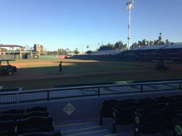 Scottsdale Stadium, secção: 115, fila: H, lugar: 1