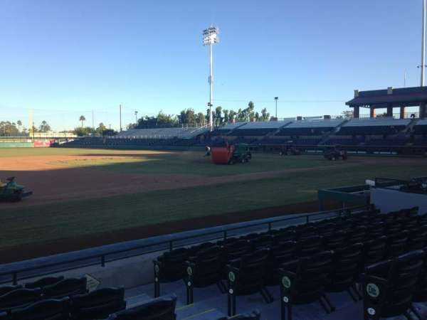 Scottsdale Stadium, secção: 119, fila: WC, lugar: 3