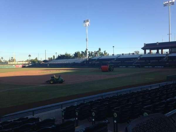 Scottsdale Stadium, secção: 121, fila: WC, lugar: 3