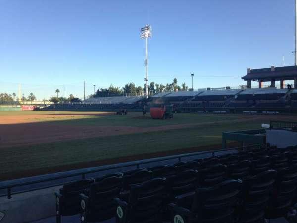 Scottsdale Stadium, secção: 119, fila: F, lugar: 1