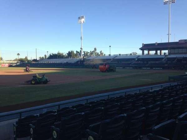 Scottsdale Stadium, secção: 121, fila: F, lugar: 1