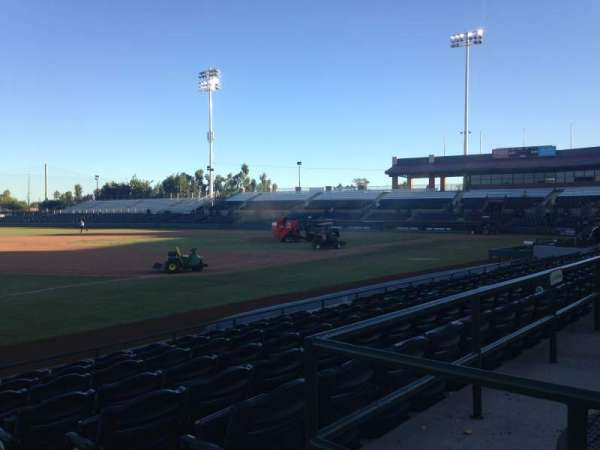Scottsdale Stadium, secção: 123, fila: H, lugar: 1