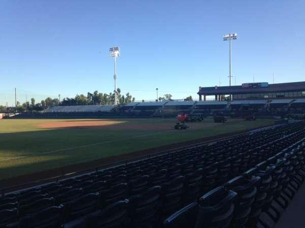 Scottsdale Stadium, secção: 127, fila: H, lugar: 1
