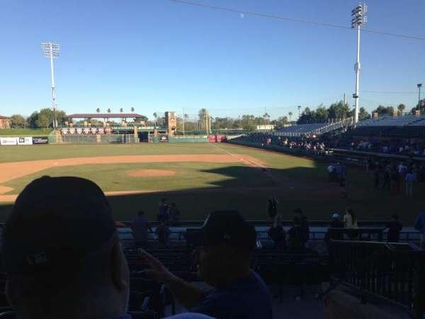 Scottsdale Stadium, secção: 309, fila: 1, lugar: 1