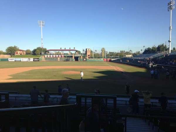 Scottsdale Stadium, secção: 305, fila: 1, lugar: 1