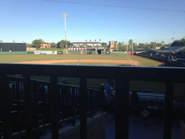 Scottsdale Stadium, secção: 305, fila: 1, lugar: 14