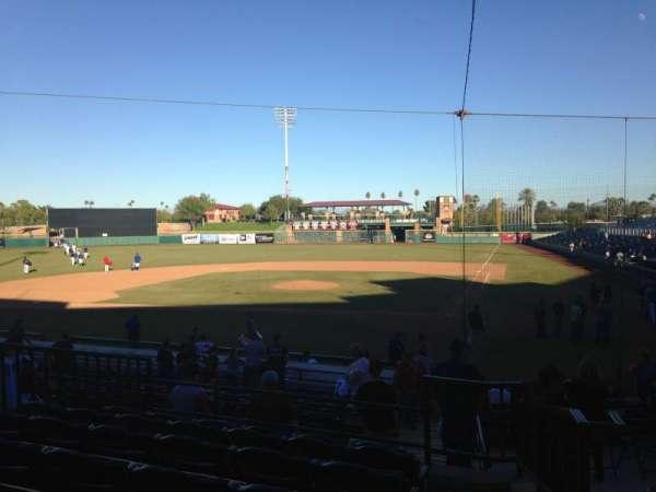Scottsdale Stadium, secção: 205, fila: M, lugar: 1