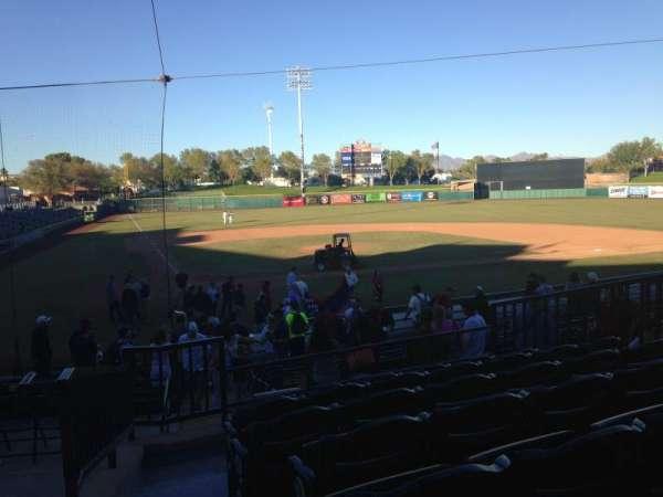Scottsdale Stadium, secção: 208, fila: M, lugar: 1