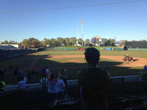 Scottsdale Stadium, secção: 306, fila: 1, lugar: 1