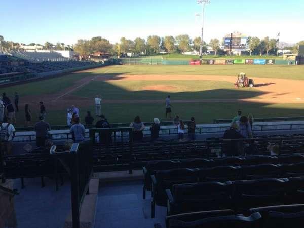 Scottsdale Stadium, secção: 210, fila: M, lugar: 1