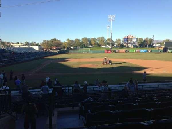 Scottsdale Stadium, secção: 310, fila: 1, lugar: 1