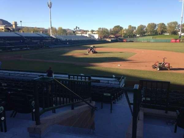 Scottsdale Stadium, secção: 214, fila: M, lugar: 1