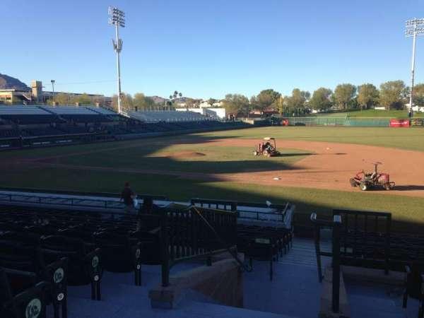 Scottsdale Stadium, secção: 314, fila: 1, lugar: 1