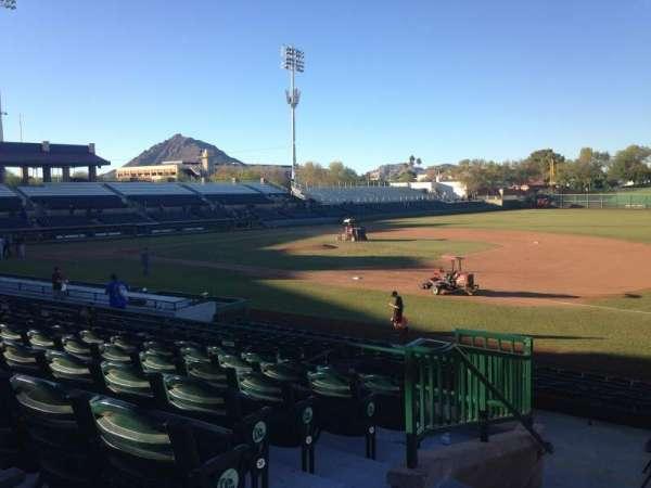 Scottsdale Stadium, secção: 316, fila: 1, lugar: 1