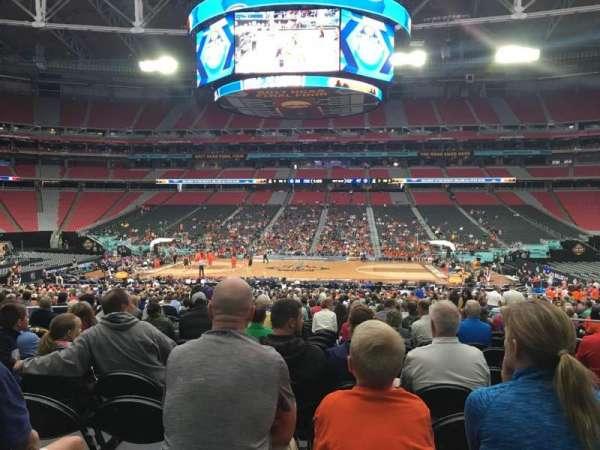 State Farm Stadium, secção: 108, fila: UU, lugar: 7