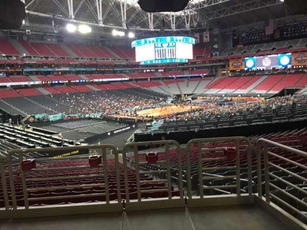 State Farm Stadium, secção: 136, fila: WC, lugar: 2