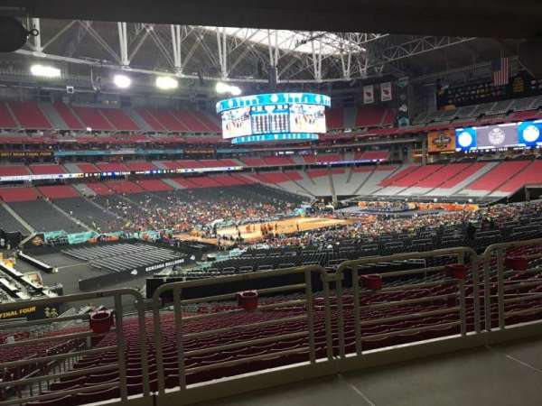 State Farm Stadium, secção: 135, fila: WC, lugar: 13