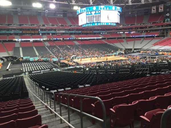 State Farm Stadium, secção: 134, fila: 37, lugar: 1