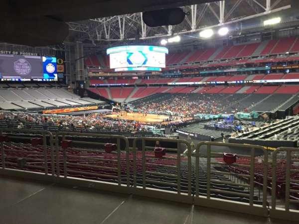 State Farm Stadium, secção: 124, fila: WC, lugar: 15