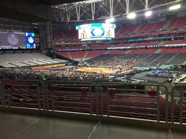 State Farm Stadium, secção: 125, fila: WC, lugar: 6