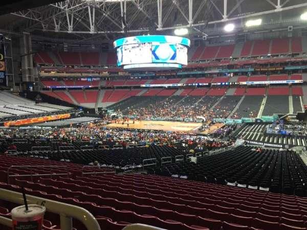 State Farm Stadium, secção: 126, fila: WC, lugar: 4