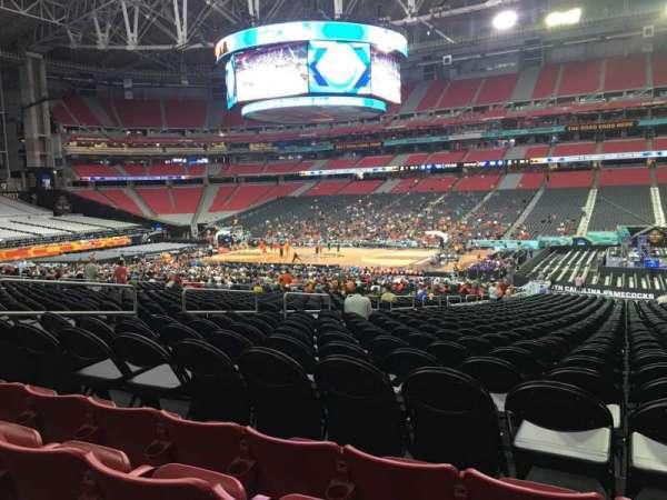 State Farm Stadium, secção: 126, fila: 29, lugar: 8
